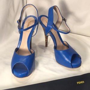 Fendi designer heels